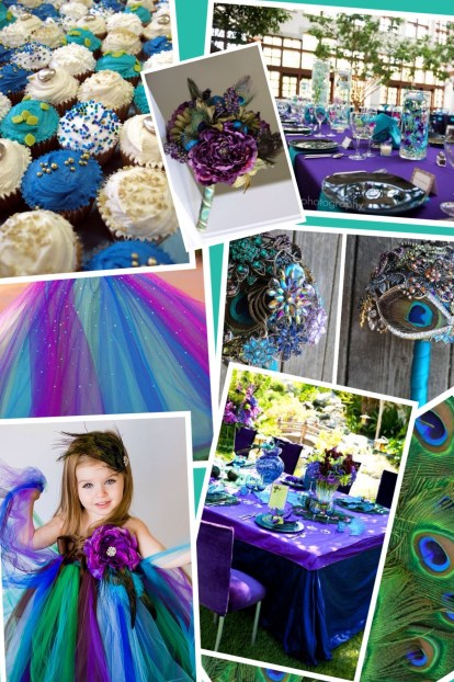Wedding Style ♥ Peacock Wedding Theme