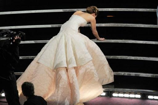 Falling in Dior, Jennifer Lawrence