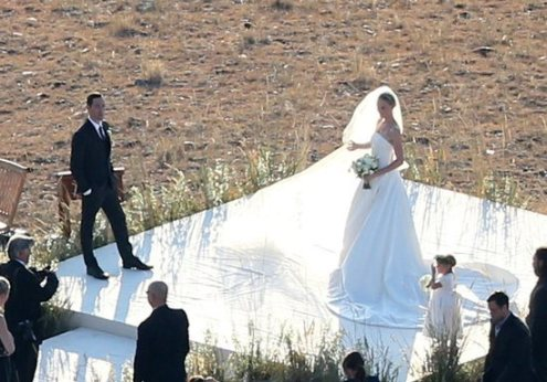 Limited image from Kate Bosworth's wedding