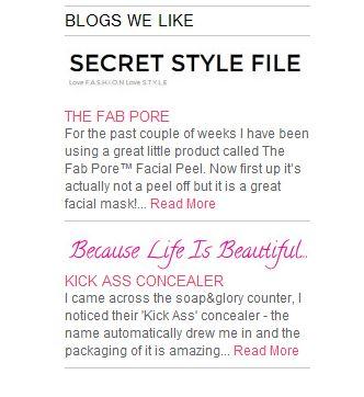 Soap&Glory - Secret Style File