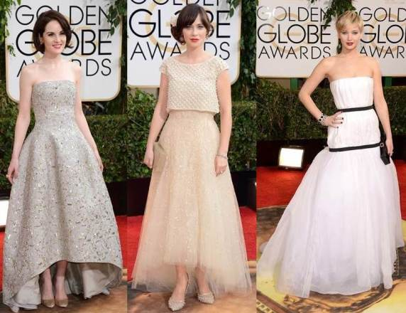 Barely There Shades - Michelle Dockery, Zooey Deschanel and Jennifer Lawrence