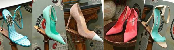 Manolo Blahnik Spring Summer 2014 Collection (Images: Vogue)
