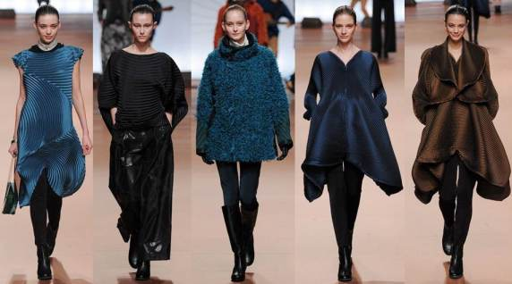 Forest Inspiration for the Issey Miyake Show  ♥ Paris