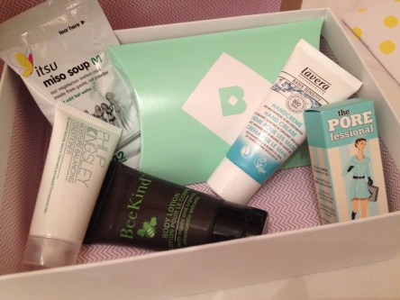 My First Birchbox Review ♥