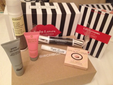 March and April Birchbox Review ♥