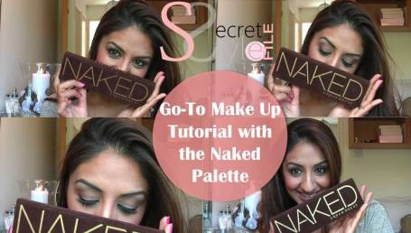 My Go-To Make-Up Tutorial Using the Naked Palatte ♥