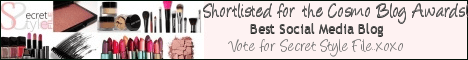 Cosmo Blog Awards Vote
