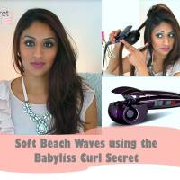 How to create Soft Beach Waves using the Babyliss Curl Secret