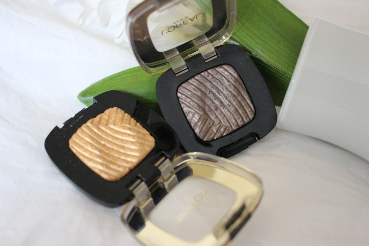 L'Oreal Paris Color Riche Eyeshadow Review