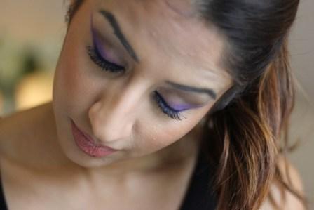 Cheryl Fernandez Inspired Purple Eyes ♥ XFactor Make-Up Tutorial