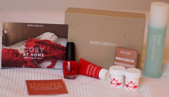 What's in my November Birchbox Cosy at Home ♥