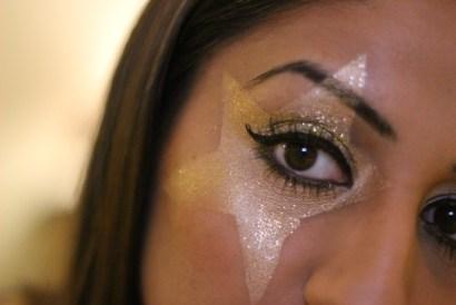 NYE Starry Eye Tutorial ♥ Style of Kate Moss