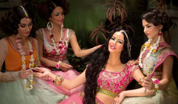 Image from Roshni Hair & Make Up, make-up and hair by Roshni Ladva