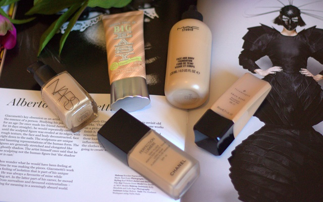 My Top Five Favourite Foundations ♥