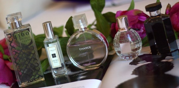 Top Five Favourite Scents ♥