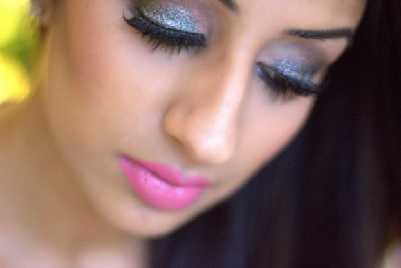 Glitter and Sparkle Make-up for NYE ♥