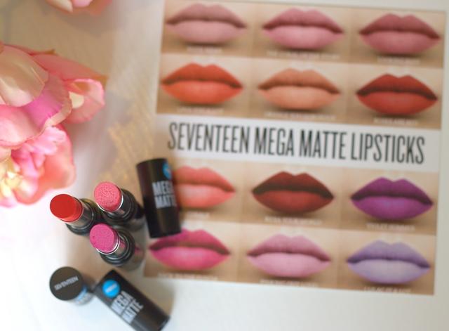 SEVENTEEN Mega Matte Lipsticks ♥
