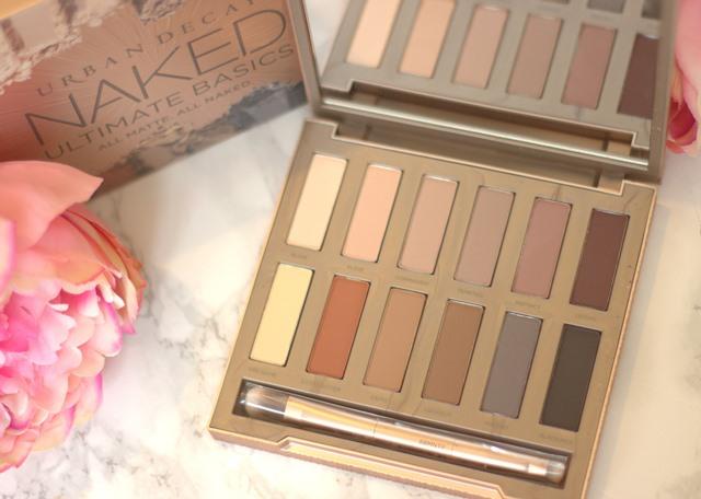 The Ultimate Naked Basics Palette