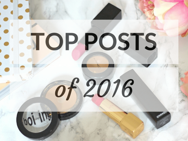 My Top Posts Over the Last Year ♥