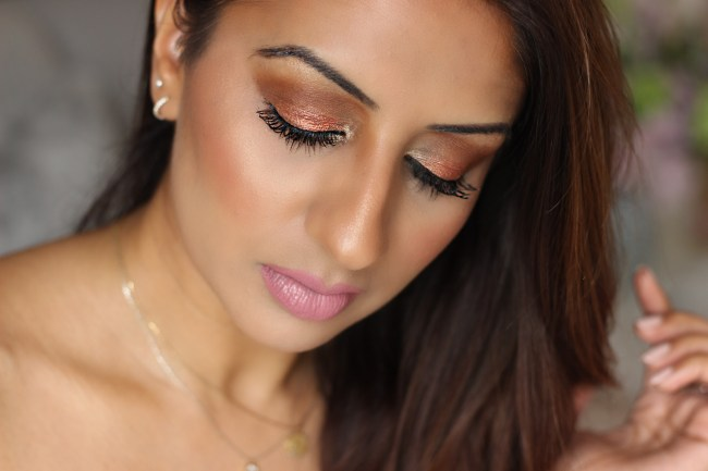 Bold and Bronzed Summer Makeup