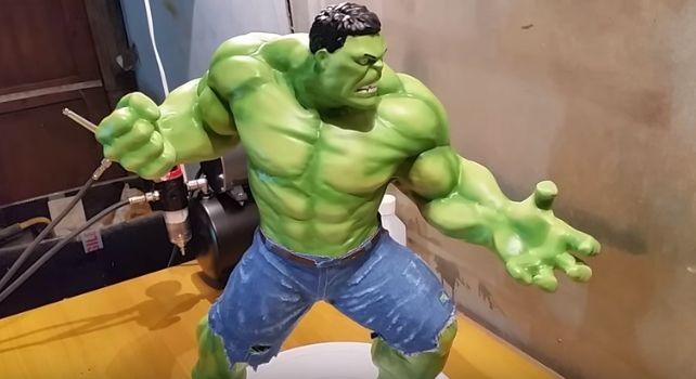 Hulk 3d printer