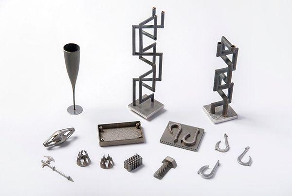 piezas impresas en 3d laser metal