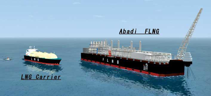 maritime-news - abadi FLNG - 20 Billion Dollar Development Plan