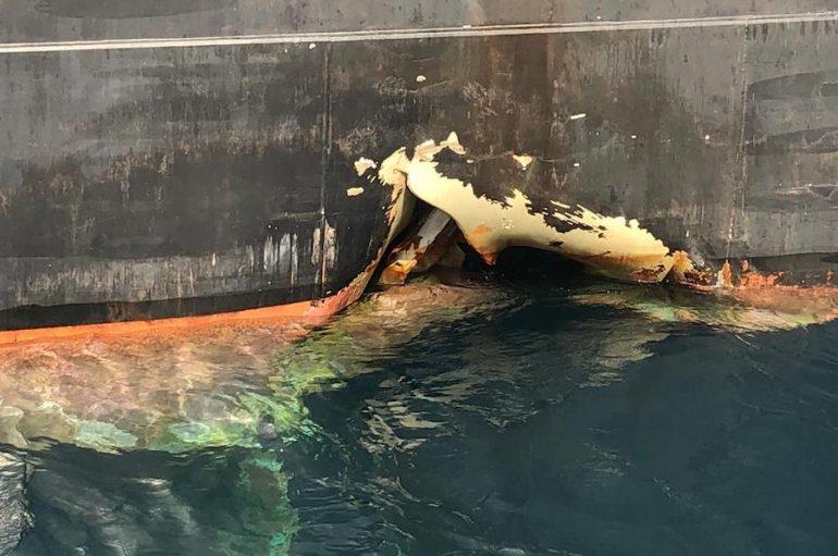 maritime-incidents - Gemiye Saldırı - Missile Attack on Fujairah