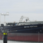 BP Oil Tanker Sheltering in Gulf  Fear of Iran Attack