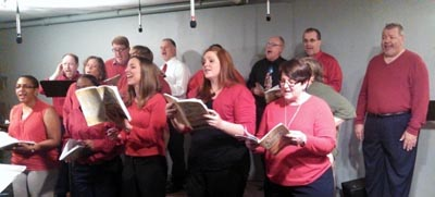 The choir at Safe Harbor