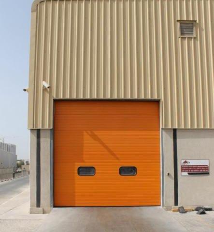 Security industrial doors London