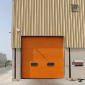 Security industrial doors London
