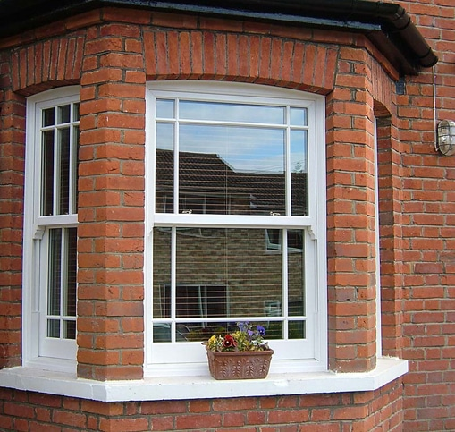 Security sash windows London