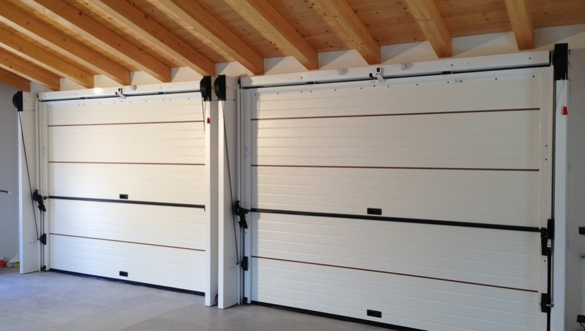 Trackless garage doors from Secure House