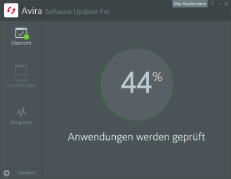 Avira_Software Updater Pro_Scanning