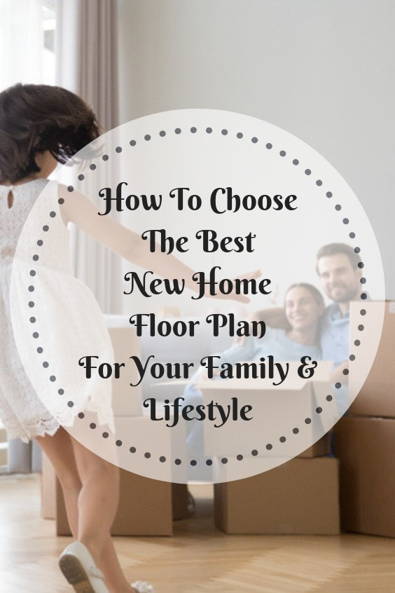 building or buying a new home? See what you need to know about choosing the best floor plan for your family and lifestyle. Do you want open floor plan? How much square footage? There is a lot to consider when building a new home