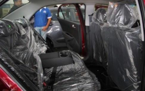 Hyundai Grand Xcent seat configuration
