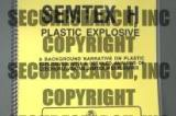 IED Training, Ordnance Training, Firearms and Drugs, Manuals and Data Sheets > Semtex – H Plastic Explosive