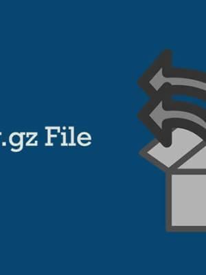 How to create tar.gz file