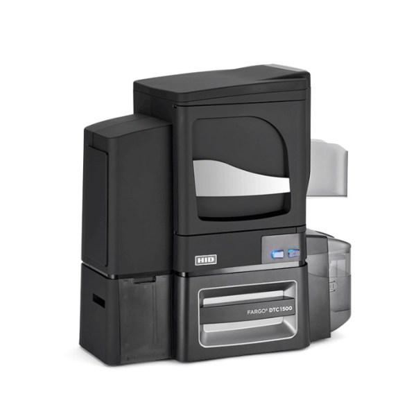 DTC1500 ID Card Printer & Encoder slant