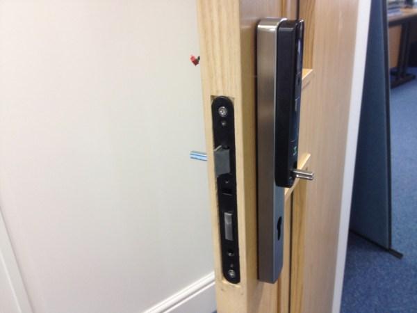 Net2 PaxLock wireless door handles