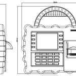 zkteco S922 Dimensions