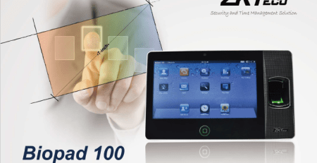 ZKTECO Biopad 100 Fingerprint Biometric