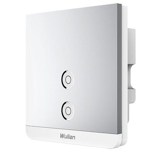 Smart Metallic Switch 2gang