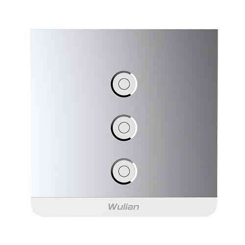 Smart Metallic Switch 3gang