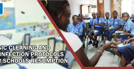 BASIC CLEANING AND DISINFECTION PROTOCOLS FOR SCHOOLS RESUMPTION