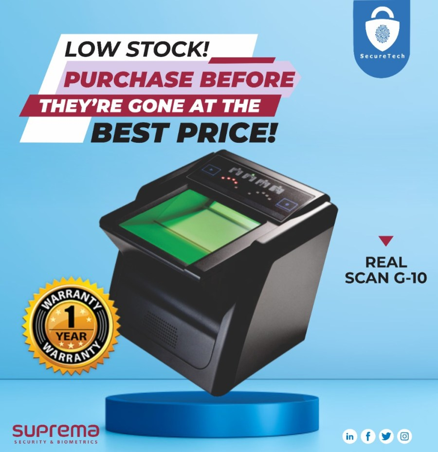 real scan g10 discount sales