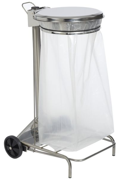 Support Sac Poubelle Pdale En Inox Securimed