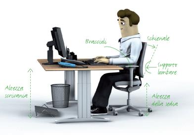 Lavorare in sicurezza in Ufficio