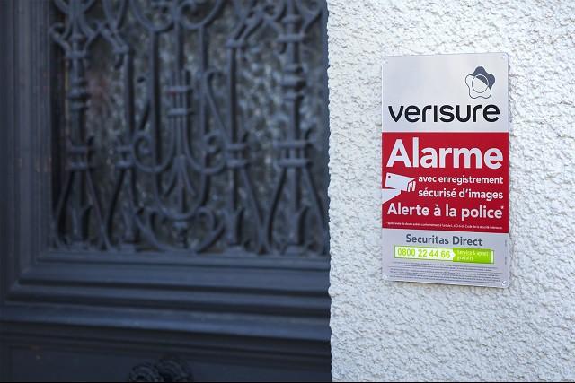 Autocollant Alarme Panneau Alarme Pour Dissuader Les Voleurs Securitas Direct